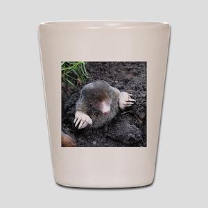 Adorable Mole in Dirt Shot Glass