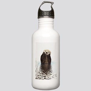 Bashful Sea Otter Stainless Water Bottle 1.0L