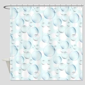 Bubble Sphere Shower Curtain