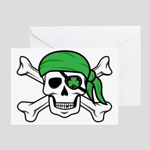 Irish Pirate Greeting Card