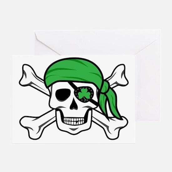 Irish Pirate Greeting Card