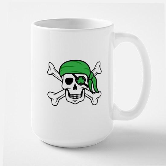 Irish Pirate Large Mug