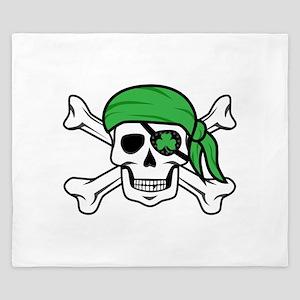 Irish Pirate King Duvet