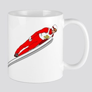 Ski Jumper Mugs