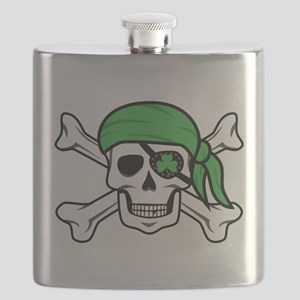 Irish Pirate Flask