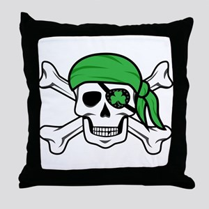 Irish Pirate Throw Pillow