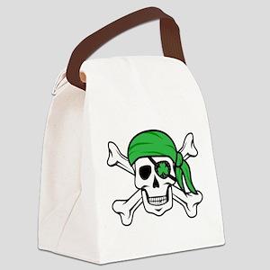 Irish Pirate Canvas Lunch Bag