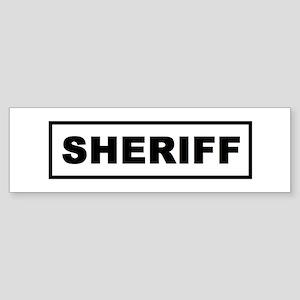 sheriff_logo Bumper Sticker