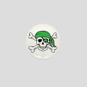 Irish Pirate Mini Button