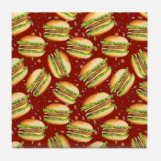 Burgers Baby Tile Coaster
