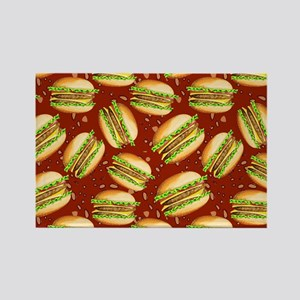 Burgers Baby Rectangle Magnet