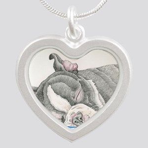Boston Terrier Puppy Dog Necklaces
