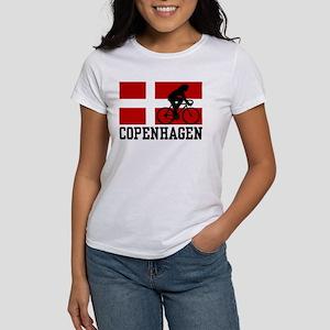 Copenhagen Cycling ( Women's Classic White T-Shirt