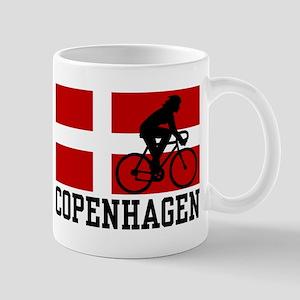 Copenhagen Cycling (female) 11 oz Ceramic Mug
