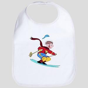 Boy Skiing Bib