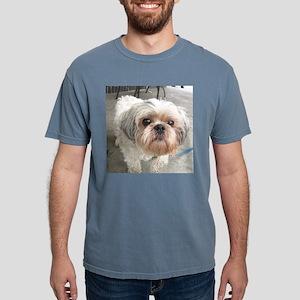 small dog at cafe T-Shirt