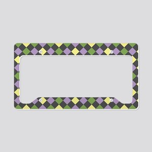 Fun with Squares License Plate Holder