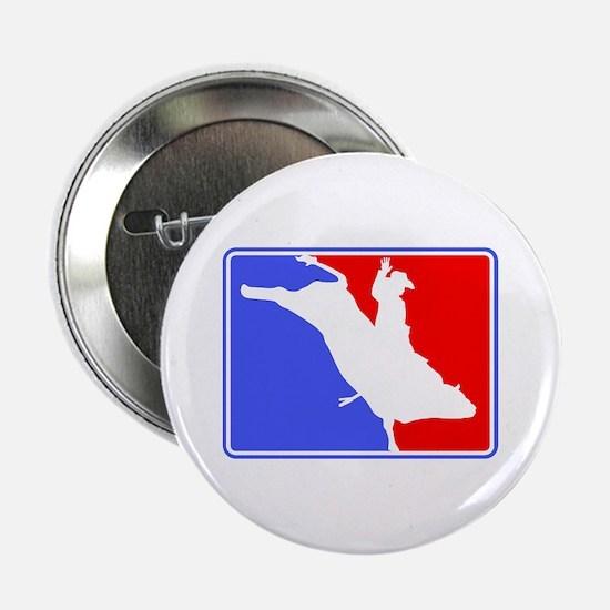 Bull Rider (Major League) Button
