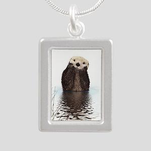 Bashful Sea Otter Necklaces
