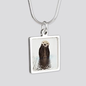 Bashful Sea Otter Necklaces