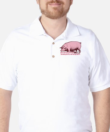 The Pigs Rule Golf Shirt