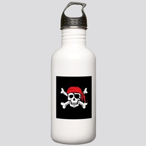 Jolly Roger Pirate (on Stainless Water Bottle 1.0L