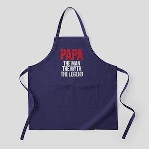 Papa, The Man, The Myth, The Legend Apron (dark)