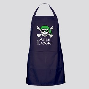 Irish Pirate - Arrr Laddie! Apron (dark)