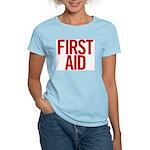 First Aid (red) Women's Light T-Shirt
