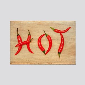 Hot Chili Peppers Rectangle Magnet