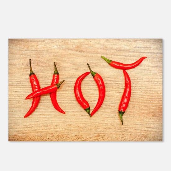 Hot Chili Peppers Postcards (Package of 8)