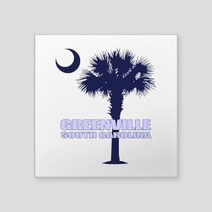 Greenville SC Sticker