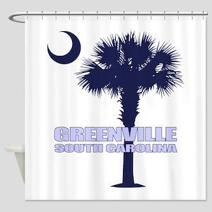 Greenville SC Shower Curtain