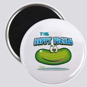 The Happy Pickle Magnet