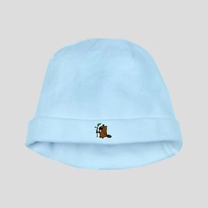practical beaver baby hat