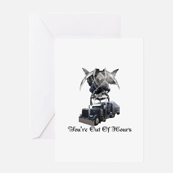 You're Out Of Hours Greeting Card