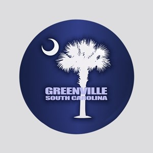 "Greenville SC 3.5"" Button"