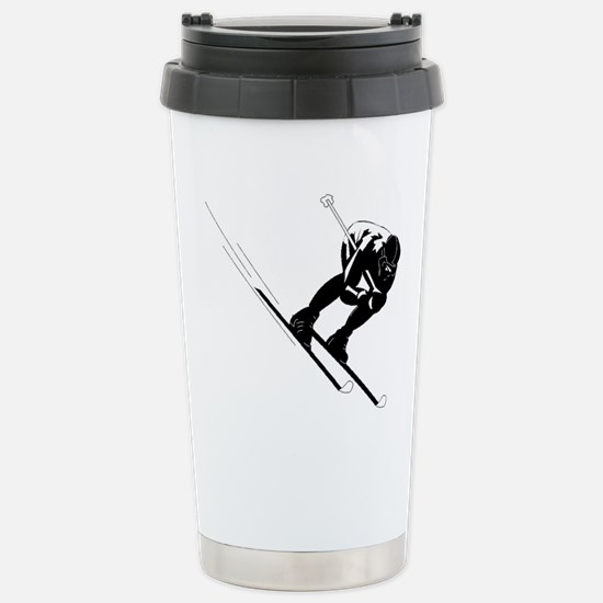 Ski Racer Travel Mug