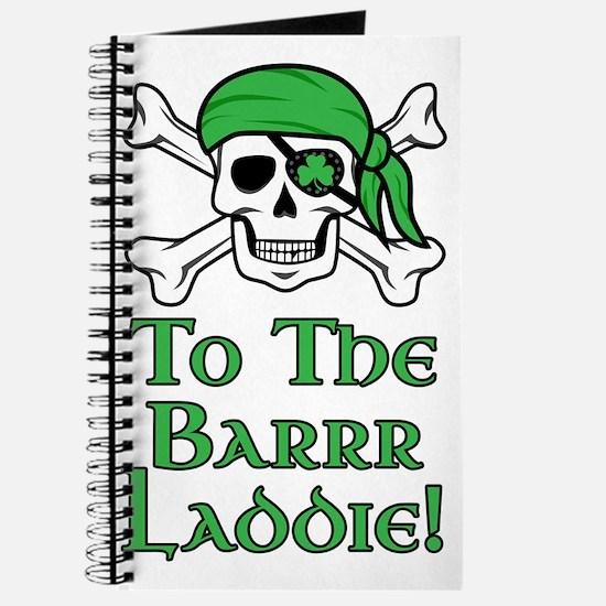 Irish Pirate - To The Barrr Laddie! Journal