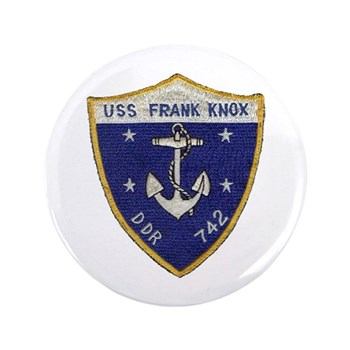 USS FRANK KNOX Button