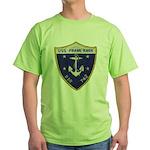 USS FRANK KNOX Green T-Shirt
