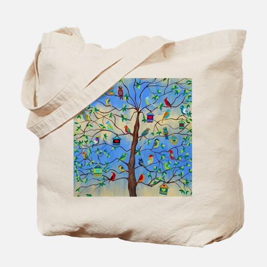 Cute Cardinal Tote Bag