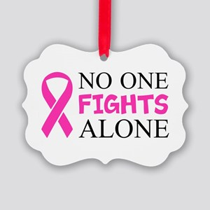 No One Fights Alone Ornament