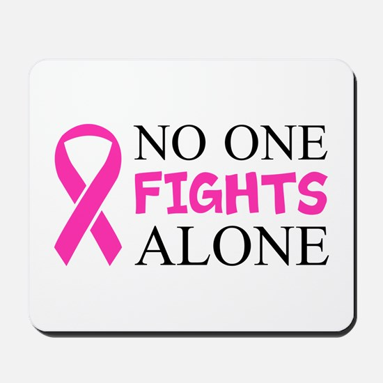 No One Fights Alone Mousepad