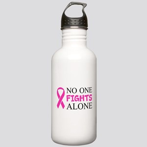 No One Fights Alone Water Bottle