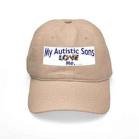 My Autistic Sons Love Me Cap