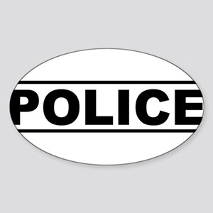 Police Product Design Sticker
