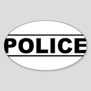 Police Product Design Sticker