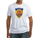 USS BRADLEY Fitted T-Shirt