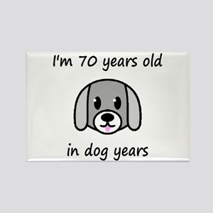 10 dog years 2 - 2 Magnets